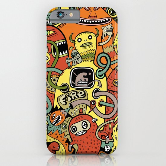 Warm in iPhone & iPod Case