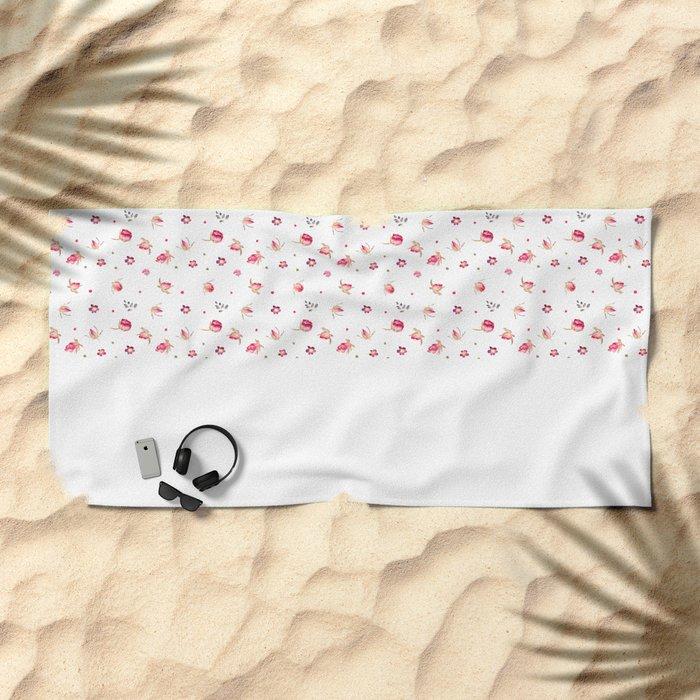 Tenderness Beach Towel