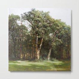 Alexandre Calame 1810 - 1864 TREES, 1836 Metal Print