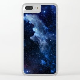 Galaxy - Witch Head Nebula Clear iPhone Case