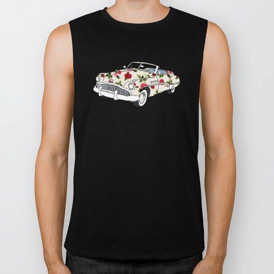 Blossom car Biker Tank