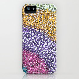 Triangle Highlights iPhone Case