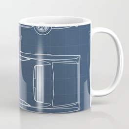 Pontiac GTO patent print. Pontiac GTO blueprint poster Coffee Mug