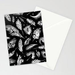 Minimalistic digital painting Stationery Cards