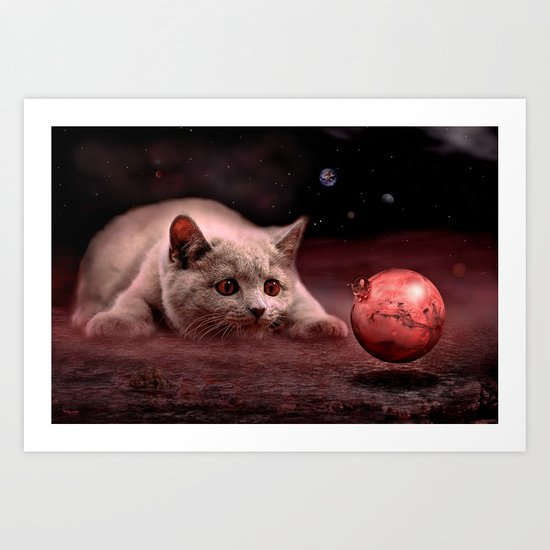 Mouse on Mars Art Print