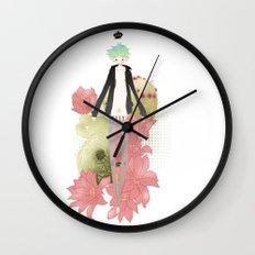 Clog Wall Clock