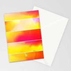 Astro Hue (Five Panels Series) Stationery Cards