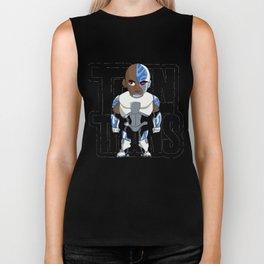 Teen Titans - Cyborg Biker Tank