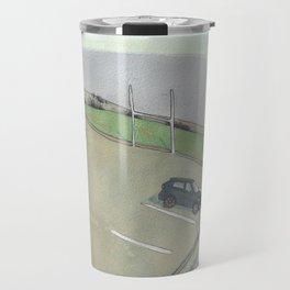 Clovelly Car Field Travel Mug