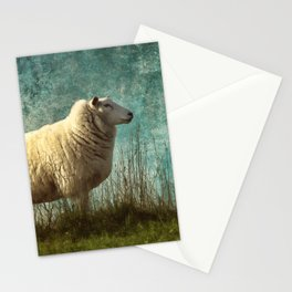 Vintage Sheep Stationery Cards