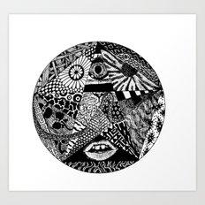 B&W Art Print