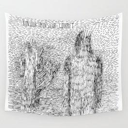 Bonjour Monsieur Courbet Wall Tapestry