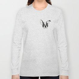 Grumpy Boston Terrier Long Sleeve T-shirt