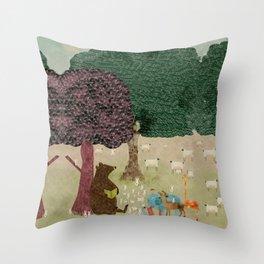 Storytime Throw Pillow