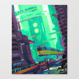 SYD CITY (everyday 03.16.19) Canvas Print