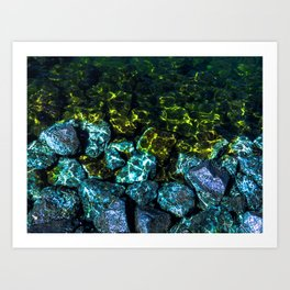 Water Stoppers Art Print