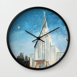 Vancouver Canada LDS Temple Wall Clock
