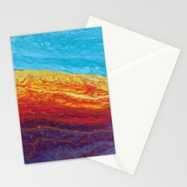 Molten Earth Stationery Cards