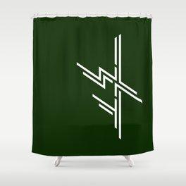 1 WAY Shower Curtain