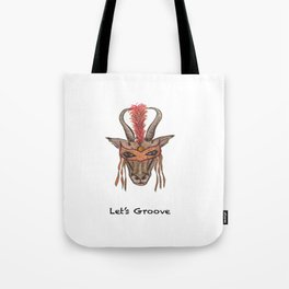 LET'S GROOVE Tote Bag