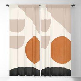 abstract minimal 62 Blackout Curtain