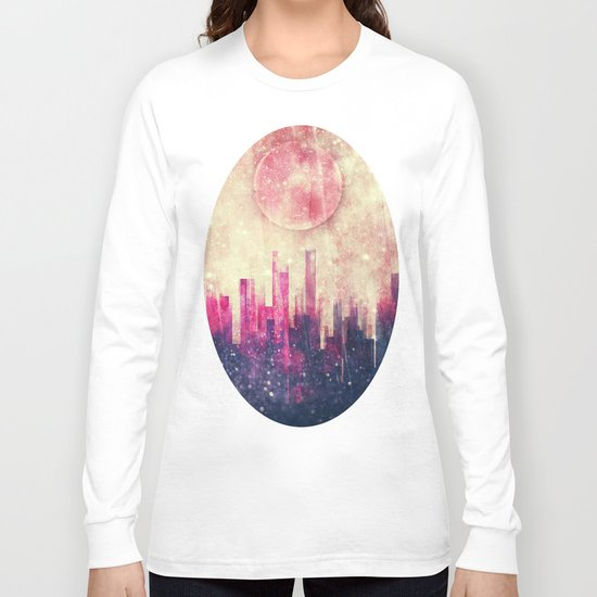 Mysterious city Long Sleeve T-shirt