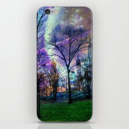 Planets in Central Park iPhone Skin