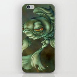 Bad Fish iPhone Skin