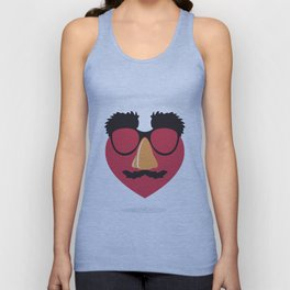 Love in Disguise Unisex Tank Top