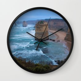Australian Coastline 1 Wall Clock