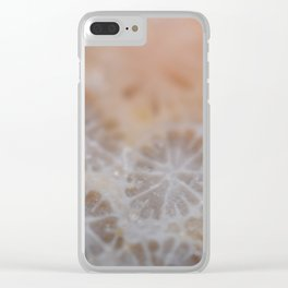 Agatized Coral Clear iPhone Case