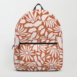 Wildflower Silhouette Backpack