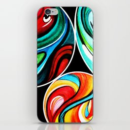 Marbles iPhone Skin
