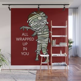 All Wrapped Up In You Wall Mural