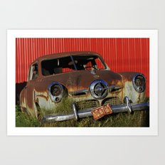 Rusted Studie 1 Art Print