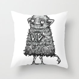 I'm Just Too Happy Throw Pillow