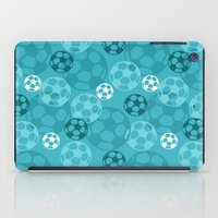 soccer iPad Cases featuring Soccer Dreams by Binge Crafter