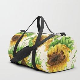 Sunflower Bouquet Duffle Bag