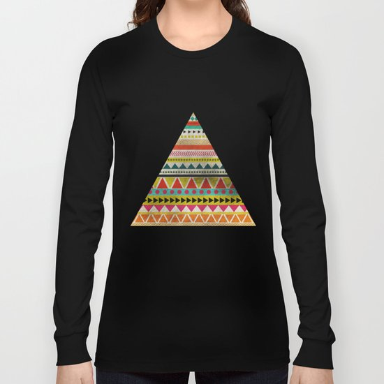 AZTEC TRIANGLE Long Sleeve T-shirt