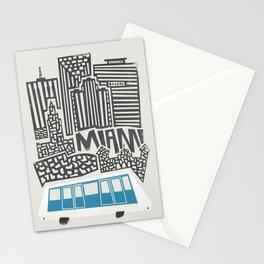 Miami Cityscape Stationery Cards