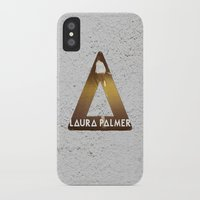 laura palmer iPhone & iPod Cases featuring Bastille #1 Laura Palmer by Thafrayer