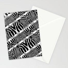 Zebra Stripe Pattern Stationery Cards