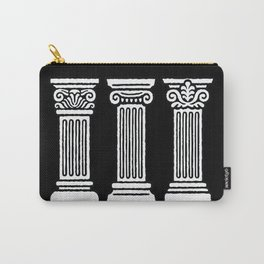 3 Columns Carry-All Pouch