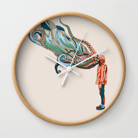 Octopus in me Wall Clock