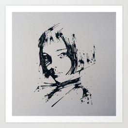 Splaaash Series - Talie Ink Art Print