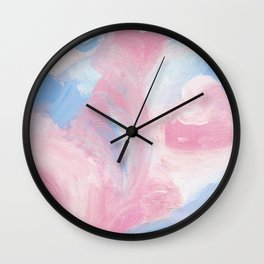 Berry Abstract Wall Clock