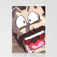 satan Stationery Cards featuring Mr. Satan by DeMoose_Art