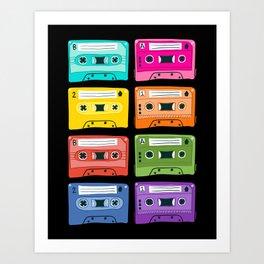 mixtapes Art Print
