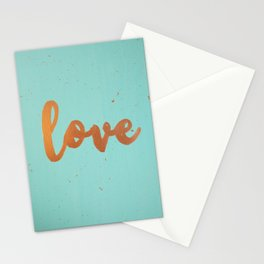 Acrylic 5 - Love! Stationery Cards