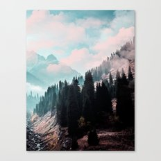 The Juxtaposed Creation #society6 #decor #buyart Canvas Print